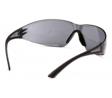 Cortez ESB3620S, óculos de segurança, lado preto, cinza