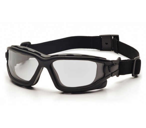 I-Force Slim ESB7010SDNT, gafas de seguridad, antivaho, borde negro, transparente