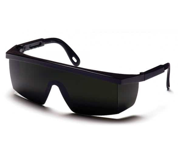 Integra ESB450SF, welding goggles, IR filter 5.0, black frame.