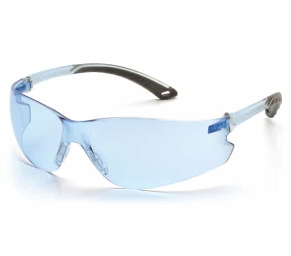 Itek ES5860S, goggles, blue/grey sides, light blue