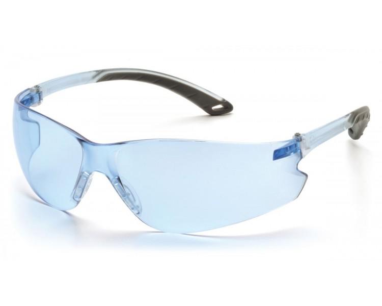 Itek ES5860S ، نظارات السلامة ، أزرق / رمادي ، أزرق فاتح