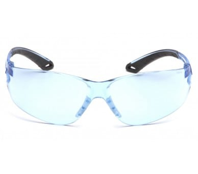 Itek ES5860S, safety goggles, blue / gray, light blue