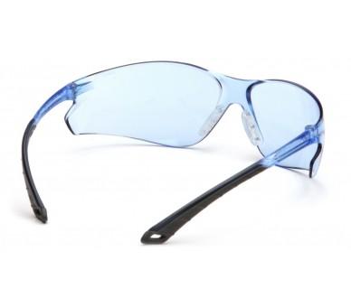 Itek ES5860S, lunettes de sécurité, bleu / gris, bleu clair