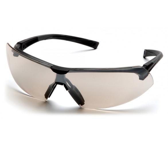 Onix ESB4980S, Lunettes de protection, Garniture noire, Miroir, Objectif I / O