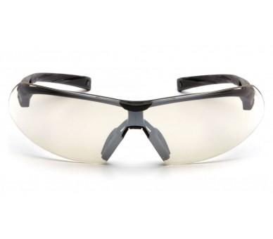Onix ESB4980S, Schutzbrille, schwarzer Rand, Spiegel, E / A-Linse