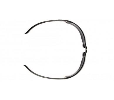 Ztek ES2530S, occhiali di protezione, lato nero, giallo brillante