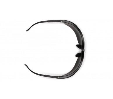 Venture II ESB1840S, safety glasses, black trim, bright orange