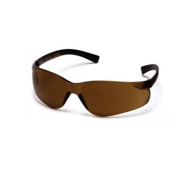 Mini Ztek ES2515SN, safety glasses, coffee brown