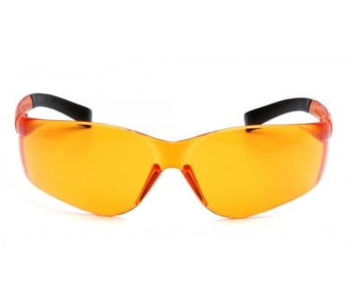 Stekať ES2540S, ochranné okuliare, čierne stranice, oranžové