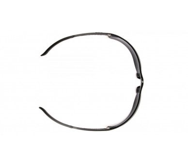 Ztek ES2540S ، نظارات السلامة ، الجانب الأسود ، البرتقالي