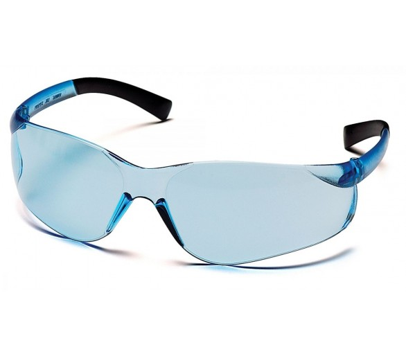 Ztek ES2560S, goggles, black sides, light blue
