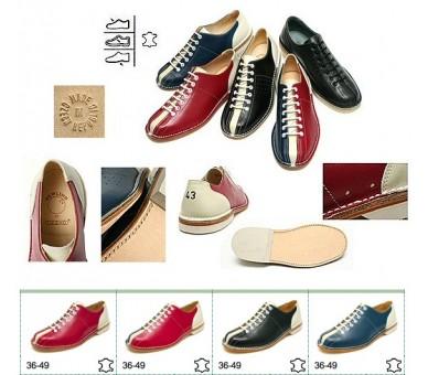 أحذية البولينج الحمراء