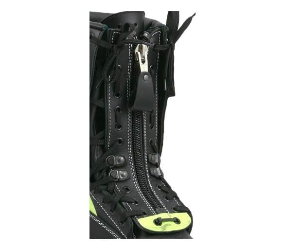 ZEMAN 412 ZIP for firefighting action boots