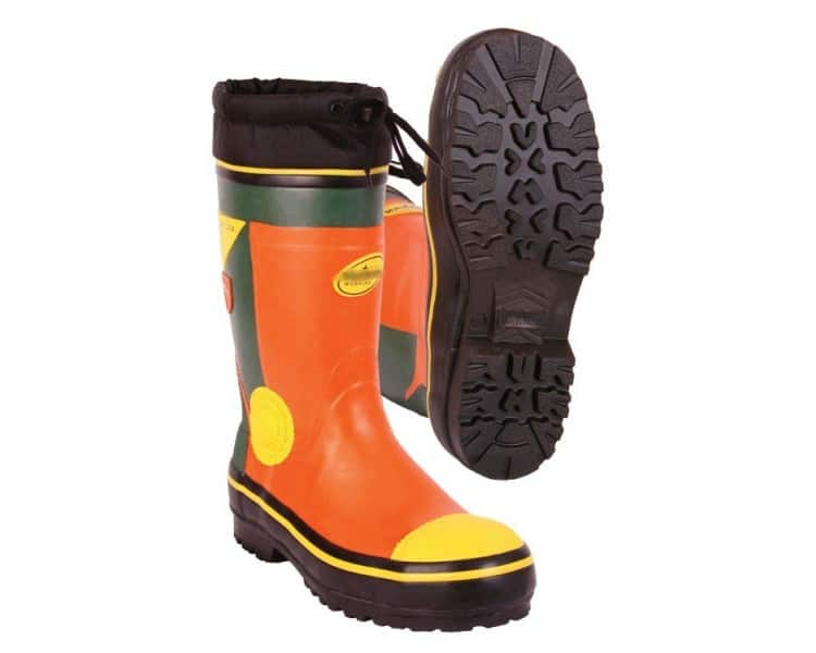 ZNR WOODCUTTER SUMMER bezpečnostní pryžová obuv