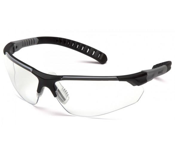 SITECORE SGL10110DTM, ochranné brýle, čirý nemlživý zorník H2MAX, černá obruba
