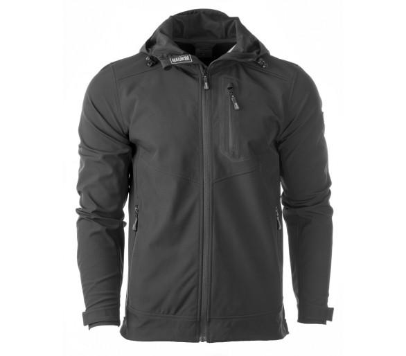 Magnum MOOSE černá Softshellová bunda - profesionální vojenské a policejní oblečení