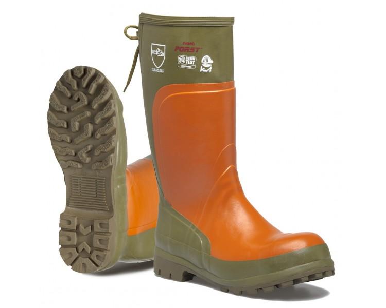 Pracovní a bezpečnostní gumové boty Spirale FORST