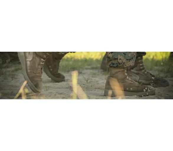 الأحذية العسكرية