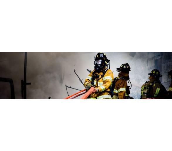 Sapatos de combate a incêndios