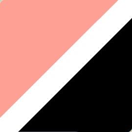 Pink-White-Black