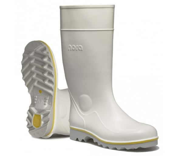 Nora RALF work rubber boots white