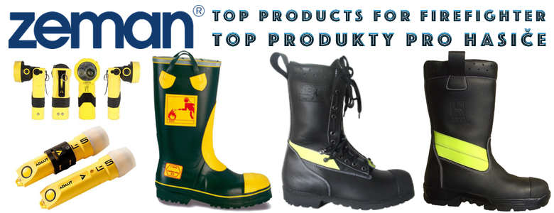 ZEMAN Fire and Emergency footwear and accessories