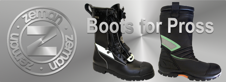 ZEMAN working, safety, military and services boots and accessories